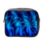 Blue Swirl Mini Toiletries Bag (Two Sides)
