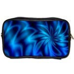 Blue Swirl Toiletries Bag (Two Sides)