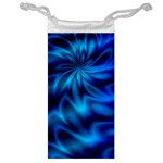 Blue Swirl Jewelry Bag