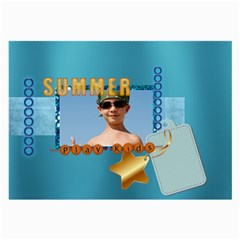 Summer By Joely   Large Glasses Cloth (2 Sides)   22nosrreqxxd   Www Artscow Com Front