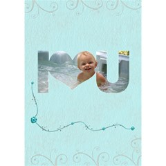 Whispy   3d Card By Kdesigns   I Love You 3d Greeting Card (7x5)   N7ar5zfmcub9   Www Artscow Com Inside