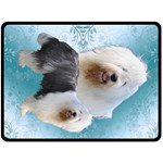 Barbara-001 - Fleece Blanket (Large)