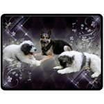 Barbara-002 - Fleece Blanket (Large)
