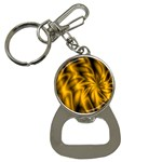 Golden Swirl Bottle Opener Key Chain
