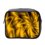 Golden Swirl Mini Toiletries Bag (Two Sides)