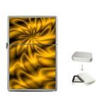Golden Swirl Flip Top Lighter