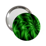 Green Swirl 2.25  Handbag Mirror
