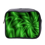 Green Swirl Mini Toiletries Bag (Two Sides)