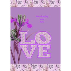 General Purpose Iris Love 3d Card By Deborah   Love Bottom 3d Greeting Card (7x5)   7t1oupiy0qtx   Www Artscow Com Inside