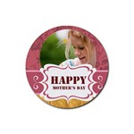 mothers day - Rubber Coaster (Round)