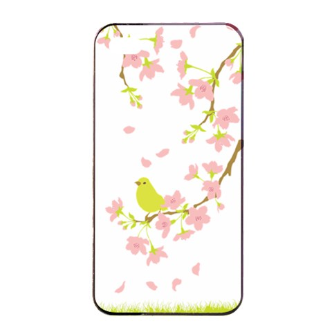 Springbird By Divad Brown   Apple Iphone 4/4s Seamless Case (black)   Jhu3xddd7xx7   Www Artscow Com Front