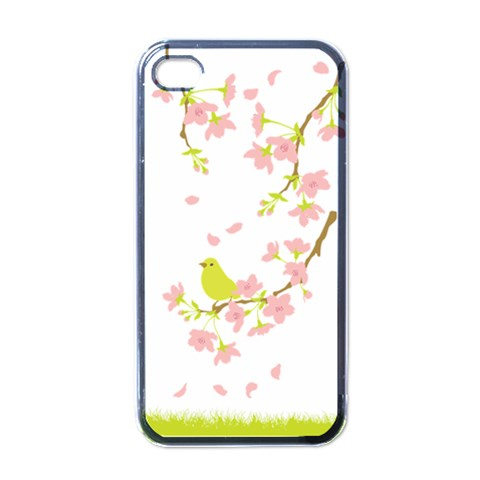 Springbird By Divad Brown   Apple Iphone 4 Case (black)   Nonj4319el35   Www Artscow Com Front