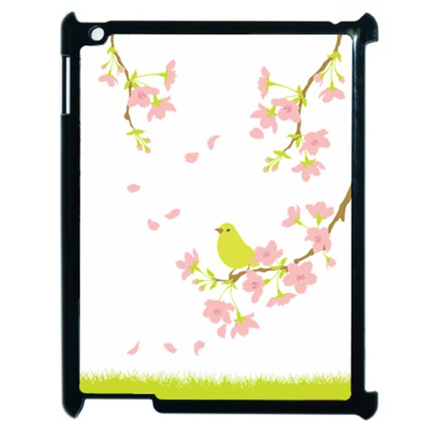 Spring Bird By Divad Brown   Apple Ipad 2 Case (black)   12nw3nwo59jn   Www Artscow Com Front