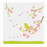 spring bird - Glasses Cloth (Medium)