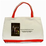 t - Classic Tote Bag (Red)