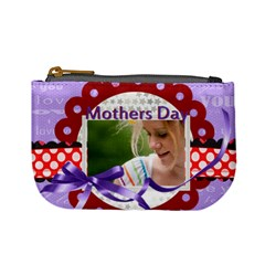 Mothers Day By Joely   Mini Coin Purse   Yjkky415hlsf   Www Artscow Com Front
