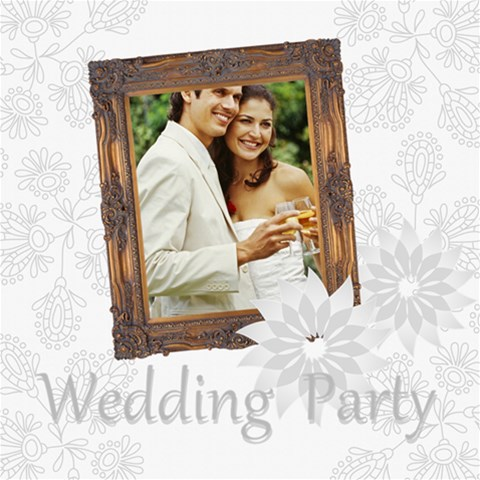 Wedding By Joely   Scrapbook Page 8  X 8    Rjfqqxh5ntfn   Www Artscow Com 8 x8 Scrapbook Page - 1