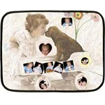 Puppy Love 2 Mini Blanket - Fleece Blanket (Mini)