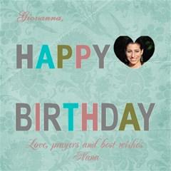 Happy Birthday Giovanna By Pat Kirby   Happy Birthday 3d Greeting Card (8x4)   U1qqnkslob29   Www Artscow Com Inside