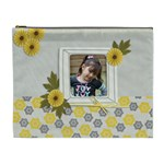 XL Cosmetic Bag - Happiness 3 - Cosmetic Bag (XL)
