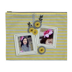 Xl Cosmetic Bag   Happiness 6 By Jennyl   Cosmetic Bag (xl)   O5s14sme326a   Www Artscow Com Front