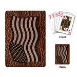 Leather-Look USA Playing Cards Single Design