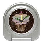 Leather-Look Baking Travel Alarm Clock