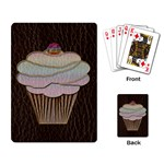 Leather-Look Baking Playing Cards Single Design