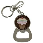 Leather-Look Baking Bottle Opener Key Chain