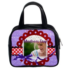 Mothers Day By Joely   Classic Handbag (two Sides)   Cdyy3rfabs4k   Www Artscow Com Front