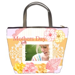 Mothers Day By Joely   Bucket Bag   T8z4rcd69jw4   Www Artscow Com Back