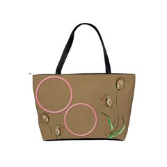 Chocolate Tulip Shoulder Bag by Deborah Back