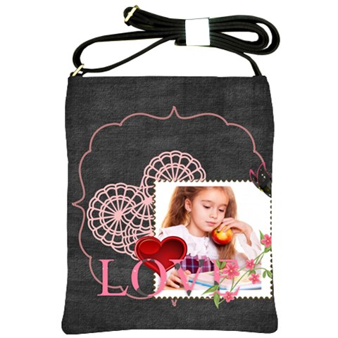 Love By Joely   Shoulder Sling Bag   Tb78hrohyobs   Www Artscow Com Front