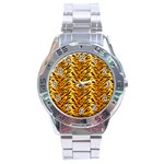 Just Tiger Stainless Steel Analogue Men's Watch