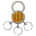Just Tiger 3-Ring Key Chain