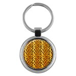 Just Tiger Key Chain (Round)