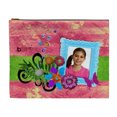 Beautiful/vacation Cosmetic Bag (xl) By Mikki   Cosmetic Bag (xl)   Wnq3znq6m369   Www Artscow Com Front