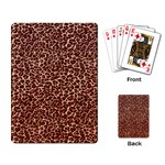 Just Leopard Playing Cards Single Design