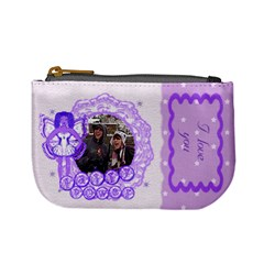 I love you Funky fairy purse by claire mcallen Front