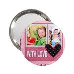 with love - 2.25  Handbag Mirror