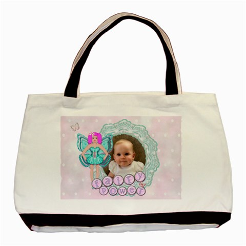 Fairy power classic tote Bag by claire mcallen Front