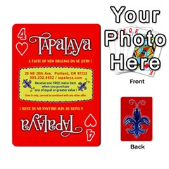 Tap By B B    Playing Cards 54 Designs   Voyytyud1tq3   Www Artscow Com Front - Heart4