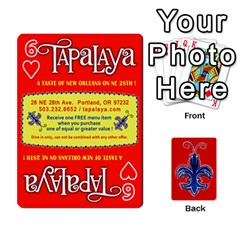 Tap By B B    Playing Cards 54 Designs   Voyytyud1tq3   Www Artscow Com Front - Heart6