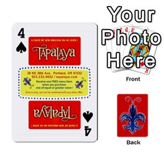 Tap By B B    Playing Cards 54 Designs   Voyytyud1tq3   Www Artscow Com Front - Spade4