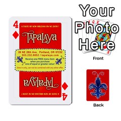 Tap By B B    Playing Cards 54 Designs   Voyytyud1tq3   Www Artscow Com Front - Diamond4