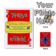 Tap By B B    Playing Cards 54 Designs   Voyytyud1tq3   Www Artscow Com Front - Diamond5