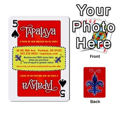 Tap By B B    Playing Cards 54 Designs   Voyytyud1tq3   Www Artscow Com Front - Spade5