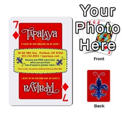 Tap By B B    Playing Cards 54 Designs   Voyytyud1tq3   Www Artscow Com Front - Diamond7
