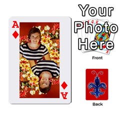 Ace Tap By B B    Playing Cards 54 Designs   Voyytyud1tq3   Www Artscow Com Front - DiamondA