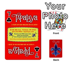 Tap By B B    Playing Cards 54 Designs   Voyytyud1tq3   Www Artscow Com Front - Club7